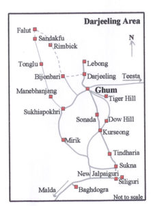 sandakphu trek map