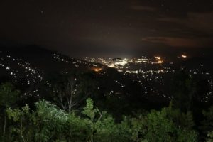 darjeeling from lepchajagat at night